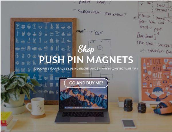 Push Pin Magnets